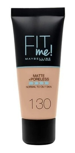 maybelline base maquillaje matificante fit me piel mixta