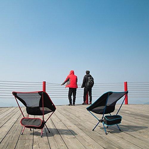 mayju silla ligera al aire libre portable silla plegable re
