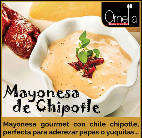 mayonesa chipotle 200 gr