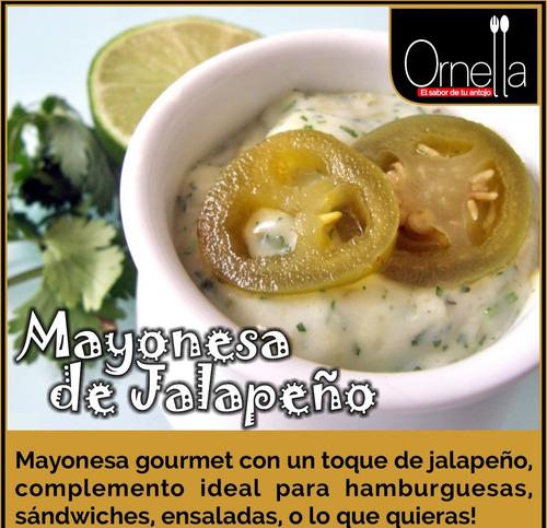 mayonesa jalapeño 200 gr