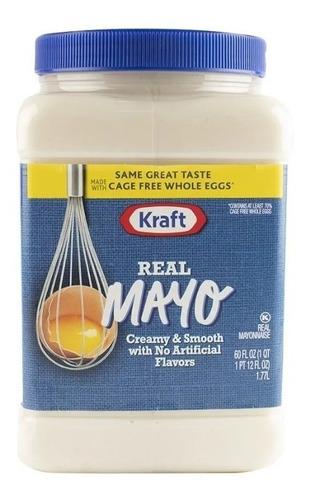mayonesa kraft importada usa 1.77 lt