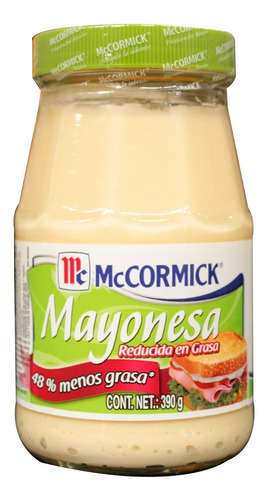 mayonesa mc cormick red en grasa 390 gr