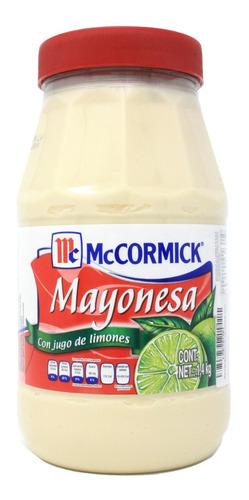mayonesa mccormick con jugo de limón 1.4 kg