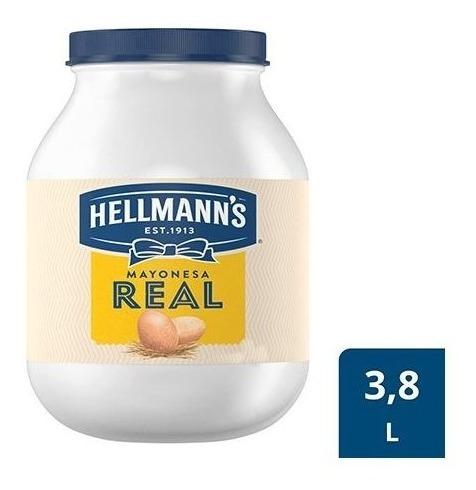 mayonesa real hellmanns x 3800 grs - g a $13