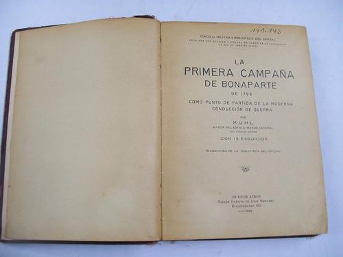 mayor kuhl la primera campaña de bonaparte de 1796