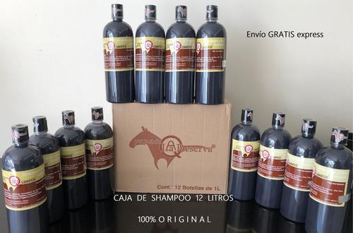 mayoreo 1 caja shampoo yeguada la reserva envío gratis