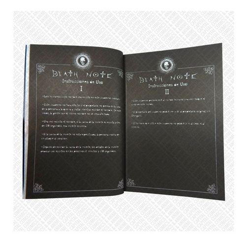 mayoreo 5 libretas death note kira todas reglas l negocio!