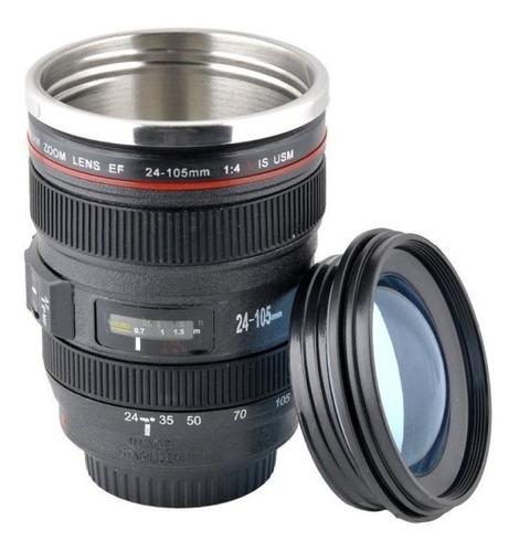 mayoreo · 5 termos forma lente de cámara · acero inoxidable