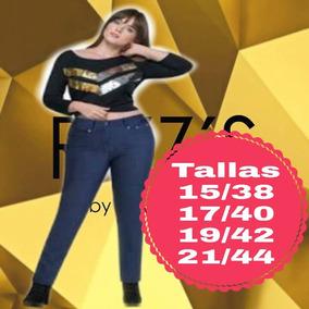 7286da691d Pantalon De Mezclilla Jeans Rvainzs Mujer Puebla Tehuacan ...