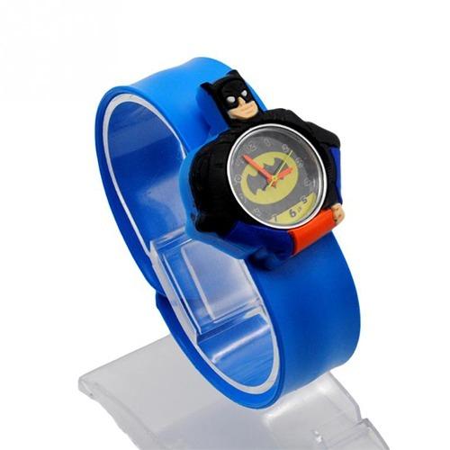 Mayoreo Lote De 10 Reloj Infantil Pikachu Batman Ajustable 1e62ed2270d7
