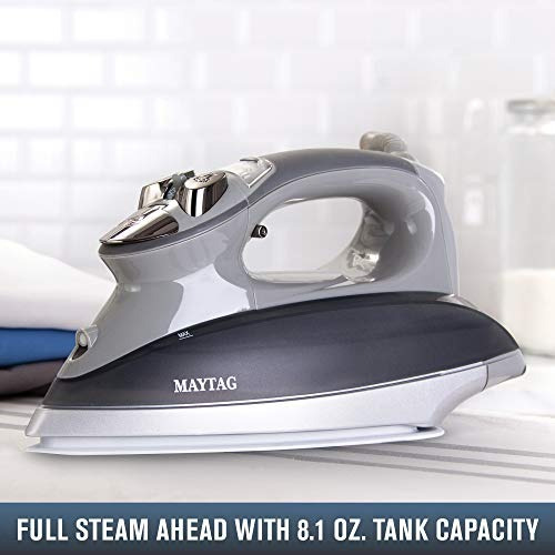 maytag m1200 plancha de vapor inteligente digital y