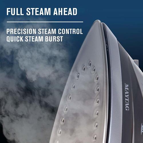 maytag m400 plancha de calor rápido y vapor vertical