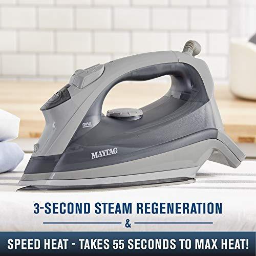maytag plancha de vapor de calor velocidad y vapor vertical