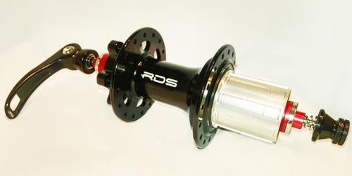 maza trasera p/ bici radius 6t c/ cierre qr 36 a 8/9/10/11 v