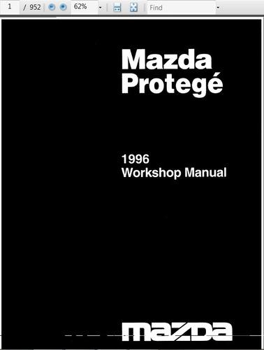 mazda 1996 manual de taller en ingles 952p