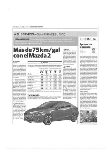 mazda 2 hactchback. año 2016, modelo 2017.
