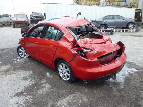 mazda 3 2010,accidentado,automatico,motor 2.0 partes