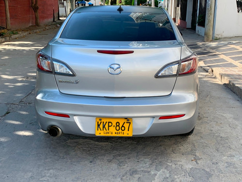 mazda 3 all new-gris plata-2014-unico dueño