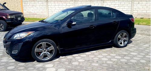 mazda 3 full equipo, 2.0 , 5 puertas color negro, 2011