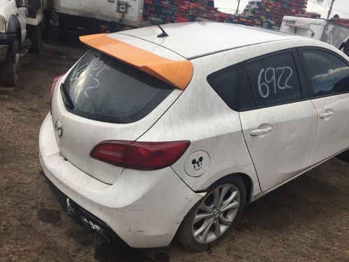mazda 3 hatch back std 2011 yonke partes refacciones huesari