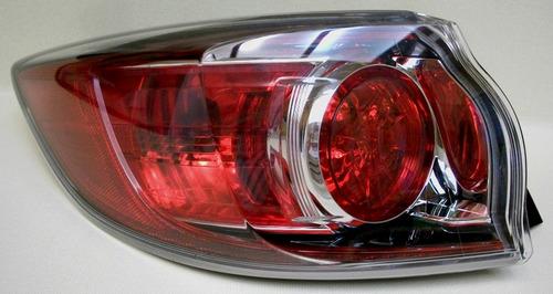 mazda 3 hatchback 2010 - 2013 calavera exterior izquierda
