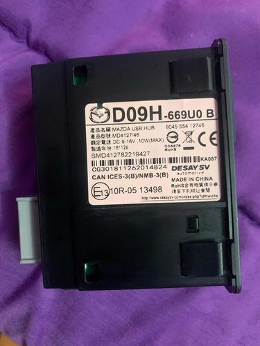 mazda 3 modulo puertos usb , tarjeta sd y auxiliar de audio