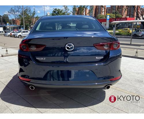 mazda 3 sedan touring mt 2021 azul metalico