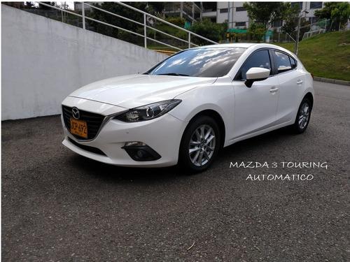 mazda 3 touring automatico unico dueño recibo spark mazda2