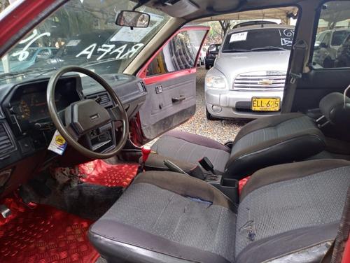 mazda 323 hb coupe motor 1.3 1991 rojo montana 3 puertas