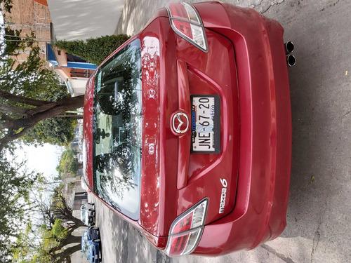 mazda 6 sport 2010 motor 2.5 rojo sangría 5 puertas
