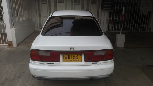 mazda allgreo 5 puertas modelo 1998 blanco