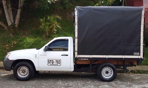 mazda bt-50 2500cc diesel 4x2 estacas carpa en manizales