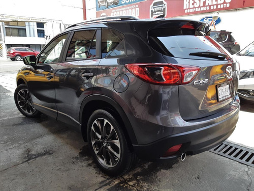 mazda cx5 i grand touring 2.0l aut 6vel piel qc 2016 grafito