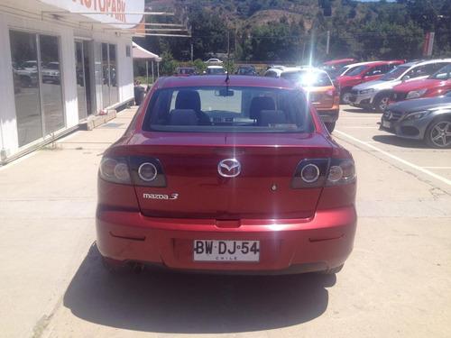 mazda mazda 3 / 2009 / rojo / automatico