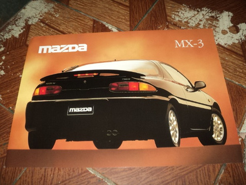 mazda mx-3   f.concessionaria