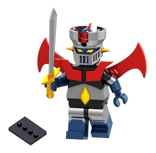 mazinger figura coleccionable bloques de armar