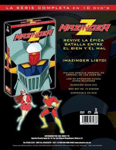 mazinger z la serie completa + getter robo (en español) 80`s