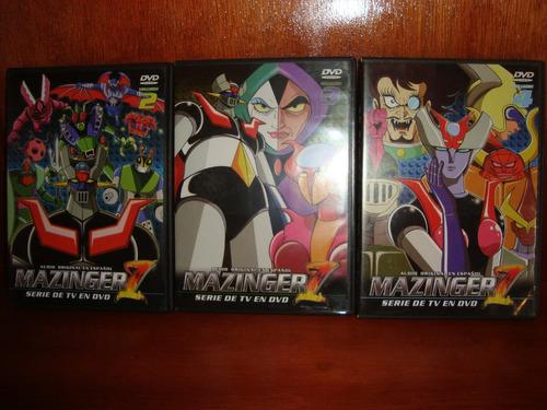 mazinger z volumen 2 3 y 4 serie tv en dvd