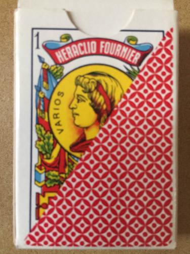 mazo cartas miniatura naipes españoles fournier liliput
