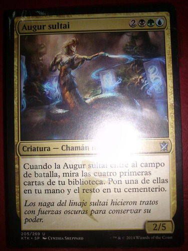 mazo de magic: sultai de khans of tarkir en español!!!