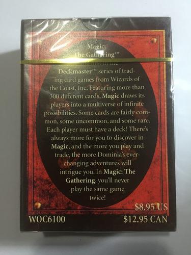 mazo magic torneo 4ta fifth edicion ingles nuevo sellado