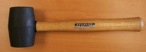 mazo (martillo) de goma 510gr modelo 57-522 stanley