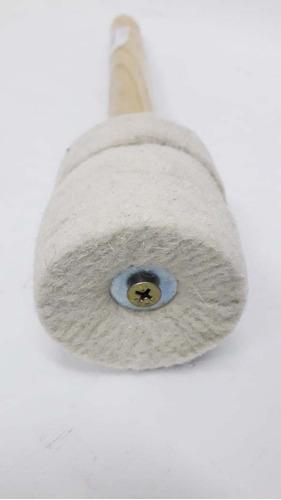 mazo para bombo de murga con filtro