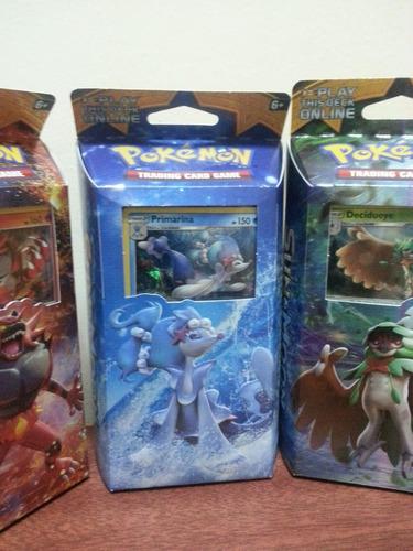 mazo pokemon. sun y moon.original. nuevo. trading cards game