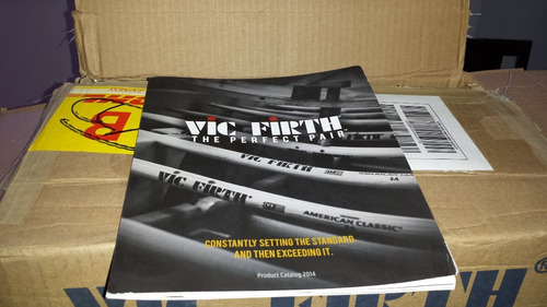 mazos vic firth modelos t1 t2 t3 t4 t5 t6 leer detalles