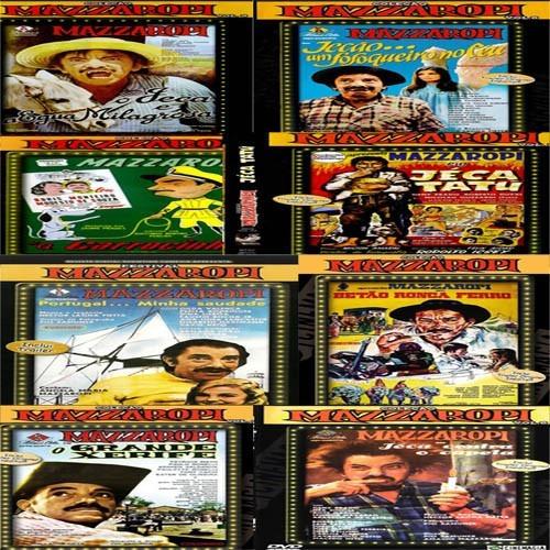 mazzaropi coleção completa 34 filmes - envio rápido