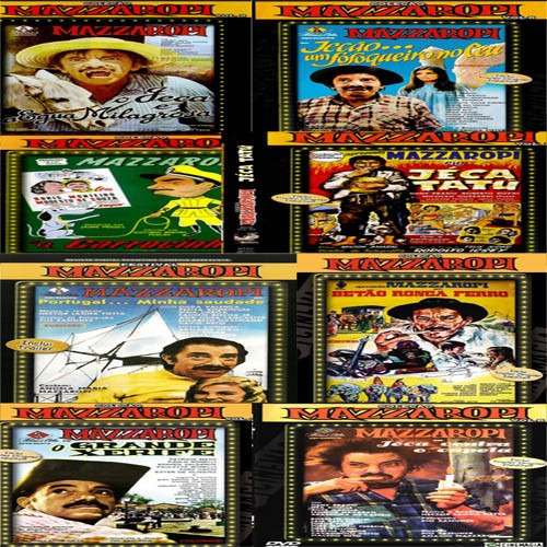 mazzaropi coleção completa todos os 34 filmes (frete grátis)