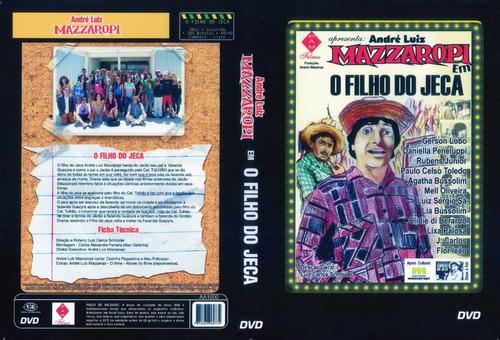 mazzaropi - dvd- o filho do jeca - com andré luiz mazzaropi