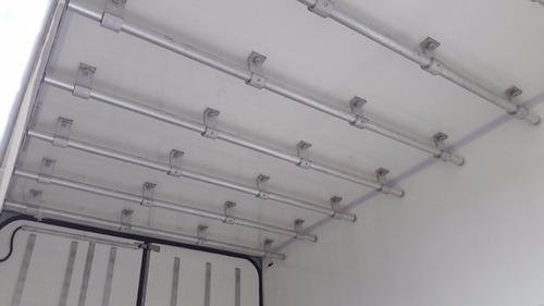 mb 1016 ano 2015/2016 frigorífico gancheiro piso canaletado