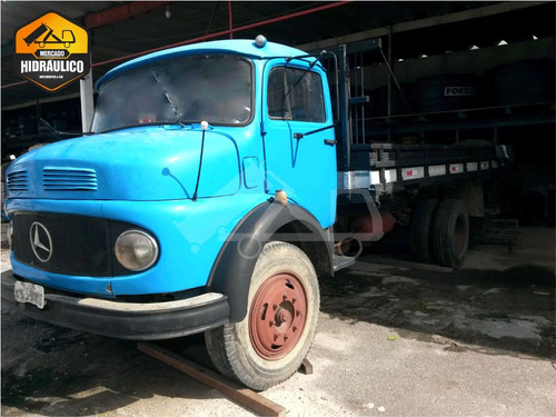 mb 1111ls / 1968 - carroceria de madeira